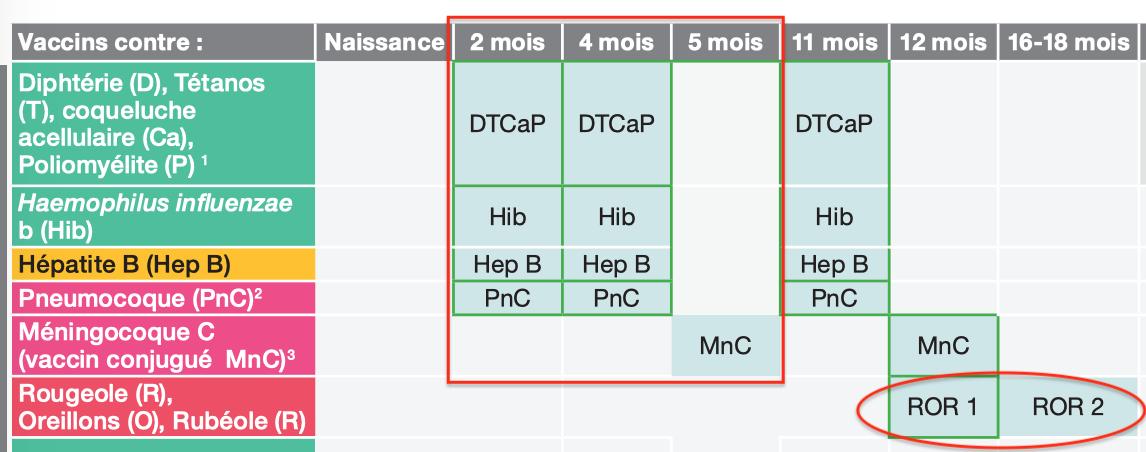 Vaccination Calendrier 2019.Vaccination Obligatoire Et Bac A Sable Aimsib